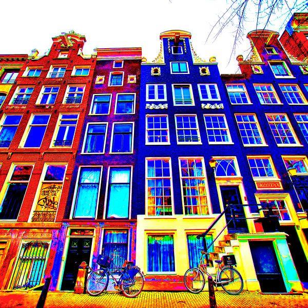 Colorful Amsterdam #114 van Theo van der Genugten