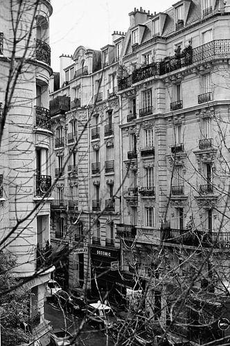 Parijs in zwart-wit van Erik van Rosmalen