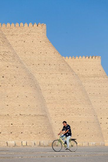 Bukhara Ark, Uzbekistan von Bart van Eijden