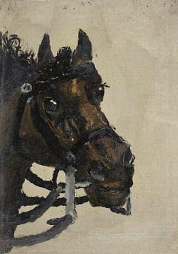 Pferdekopf, Richard Nicolaüs Roland Holst, 1881