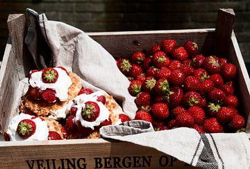 Aardbeien van Carla Broekhuizen