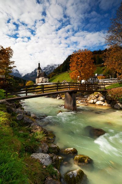Autumnlights Ramsau von Patrick Noack