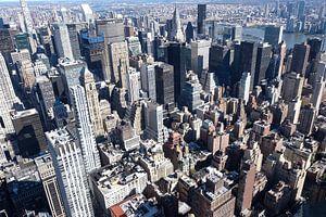 Skyline Manhattan vanaf Empire State Building