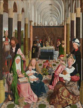 Die heilige Jungfräulichkeit, Geertgen tot Sint Jans (Studio von), um 1495