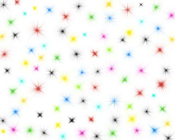 bunte Sterne van