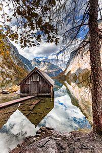 Boothuis aan de Obersee van Dirk Rüter