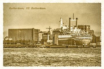 Oude ansichten: SS Rotterdam