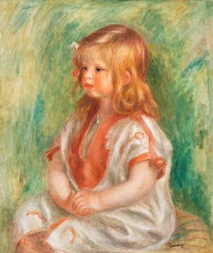 Porträt eines Kindes, Claude Renoir (1904)