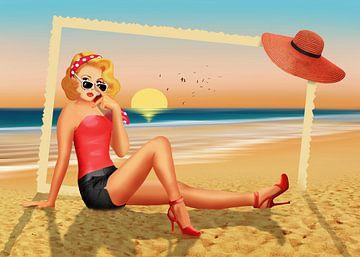 Urlaubsgrüße aus den 50er Jahren von Monika Jüngling