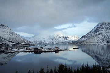 Winterlandschap van Wim Frank