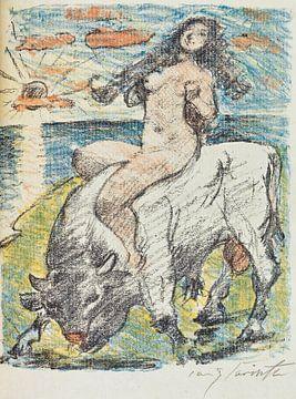 Der Venuswagen, LOVIS CORINTH, 1919 von Atelier Liesjes