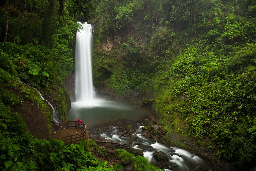 La Paz waterfall, Costa Rica van Martijn Smeets
