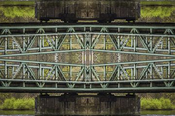 Brückenkonstruktion van Jürgen Döring
