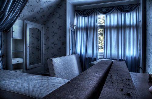 Blue room van