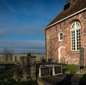 Kirche Oosterwijtwerd (Gr.) von Bo Scheeringa