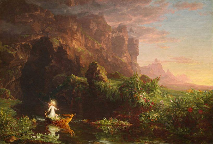 Le voyage de la vie : Enfance, Thomas Cole sur Meesterlijcke Meesters