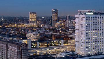 Skyline Rotterdam van 24 liquidmedia