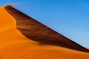 Zand, lucht en wind van