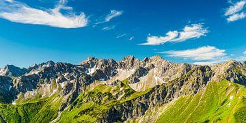 Bergpanorama vom Fellhorn