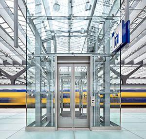 Rotterdam Centraal Station II van David Bleeker