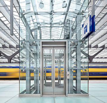 Rotterdam Hauptbahnhof II von David Bleeker