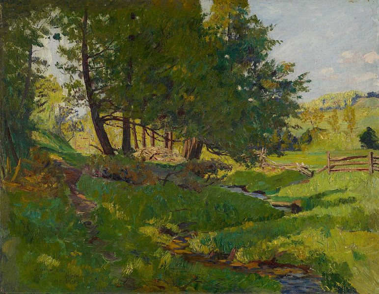 Maurice Cullen~Sommer in Beaupre von finemasterpiece