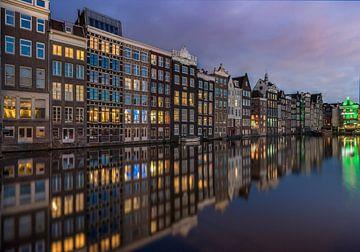 Damrak Amsterdam van Mario Calma