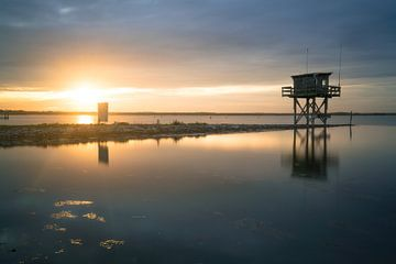 Sonnenuntergang Scharendijke von Roelof Nijholt