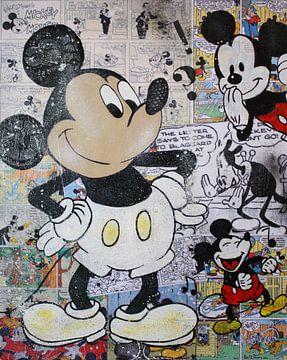 Mickey-Mouse-Comics von Kathleen Artist Fine Art