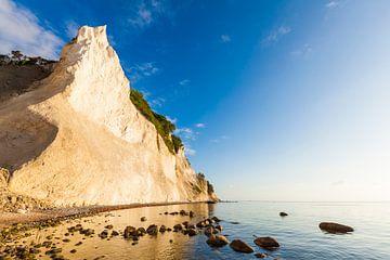 Møns Klint op het eiland Møn in Denemarken van Werner Dieterich