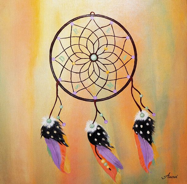 Dreamcatcher van Iwona Sdunek alias ANOWI