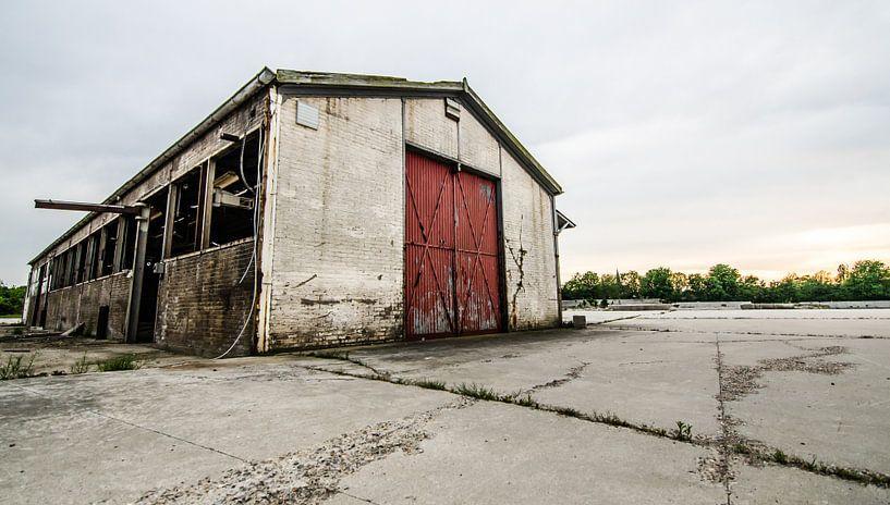 Voormalig betonfabriek Spaansen te Harlingen. von Lisette Breur