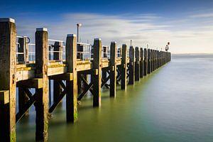 Anlegestelle im Hafen von Vlissingen entlang der Küste von Zeeland