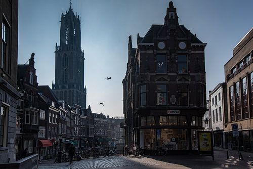 Utrecht in ochtendlicht 2 van Patrick Verheij