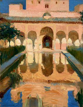 Hal van de Ambassadeurs, Alhambra, Granada, Joaquín Sorolla y Bastida