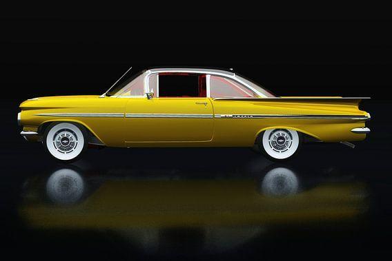 Chevrolet Impala uit de jaren 1950 Zijaanzicht