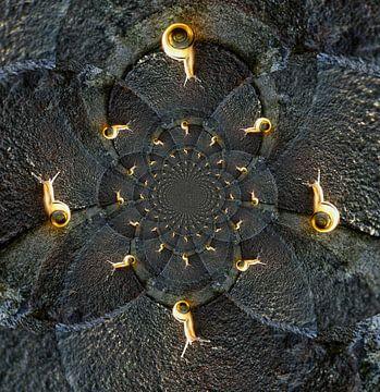 slakje/snail van Saskia Toonen