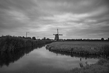 Mühle bei Volendam von Lucas Planting