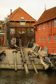 Een oude scheepswerf van Anita van Gendt
