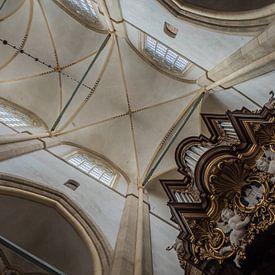 Plafondgewelf Bovenkerk Kampen van Gerrit Veldman