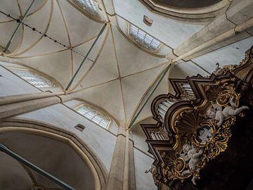Deckengewölbe Bovenkerk Kampen von Gerrit Veldman