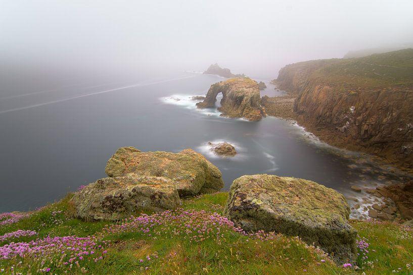 Land's End, Cornwall Engeland. van Jos Pannekoek