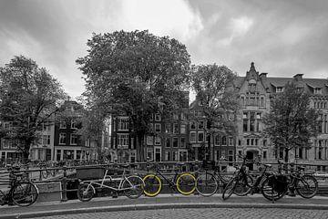 Gelbe Räder von Foto Amsterdam / Peter Bartelings