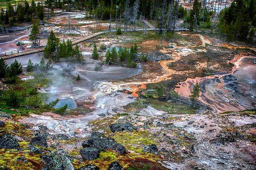 Yellowstone Paint Pots