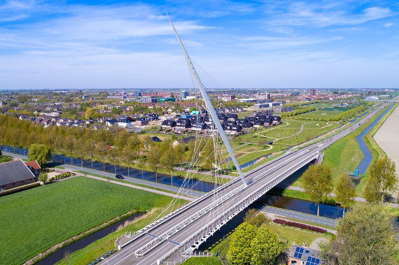 Calatrava brug, Nieuw-Vennep van Michel Sjollema