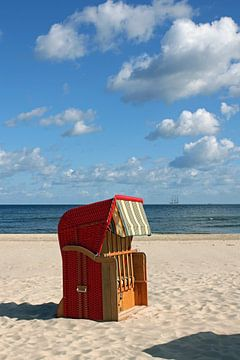 Strandkorb van Ostsee Bilder