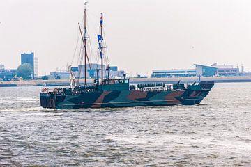 Landingsvaartuig van de Mariniers in Den Helder.