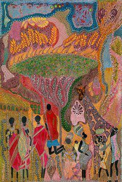 Tribute To Africa von Mohamed Hamida