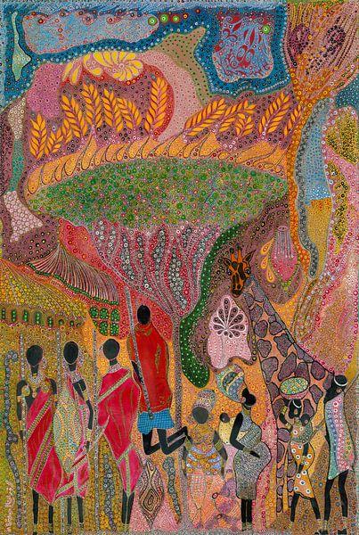 Tribute To Africa sur Mohamed Hamida