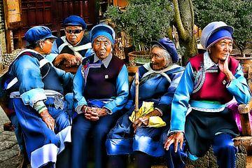 Chinese women talk van Henk Langerak